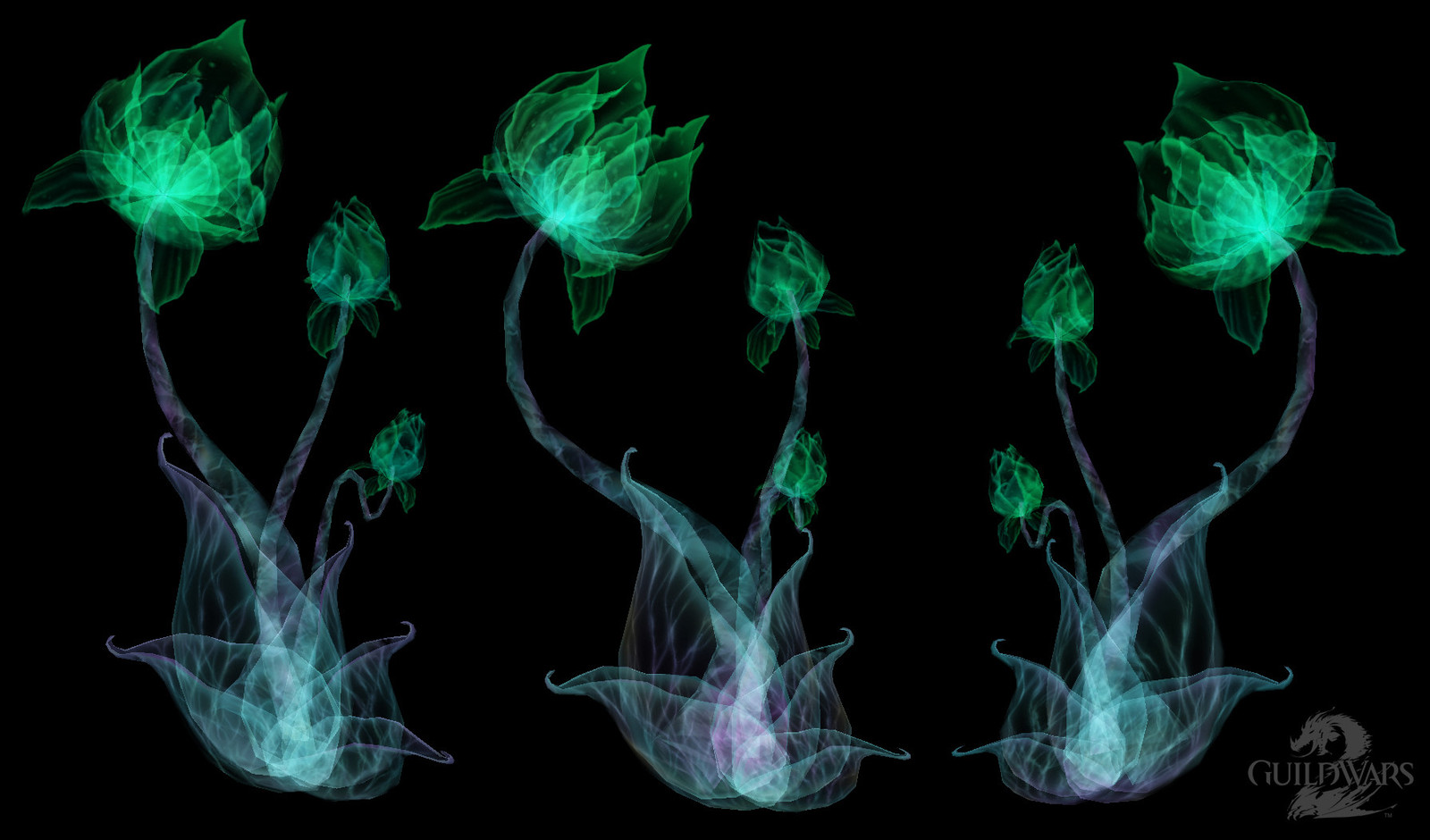 Asura Hologram Flowers