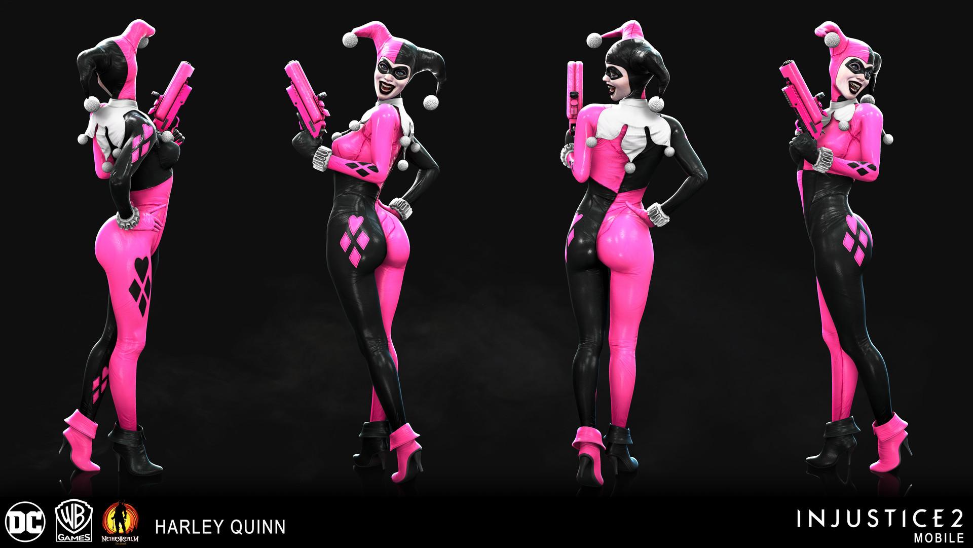 Artstation Injustice 2 Mobile Heartbreaker Harley Quinn Nick Cashio