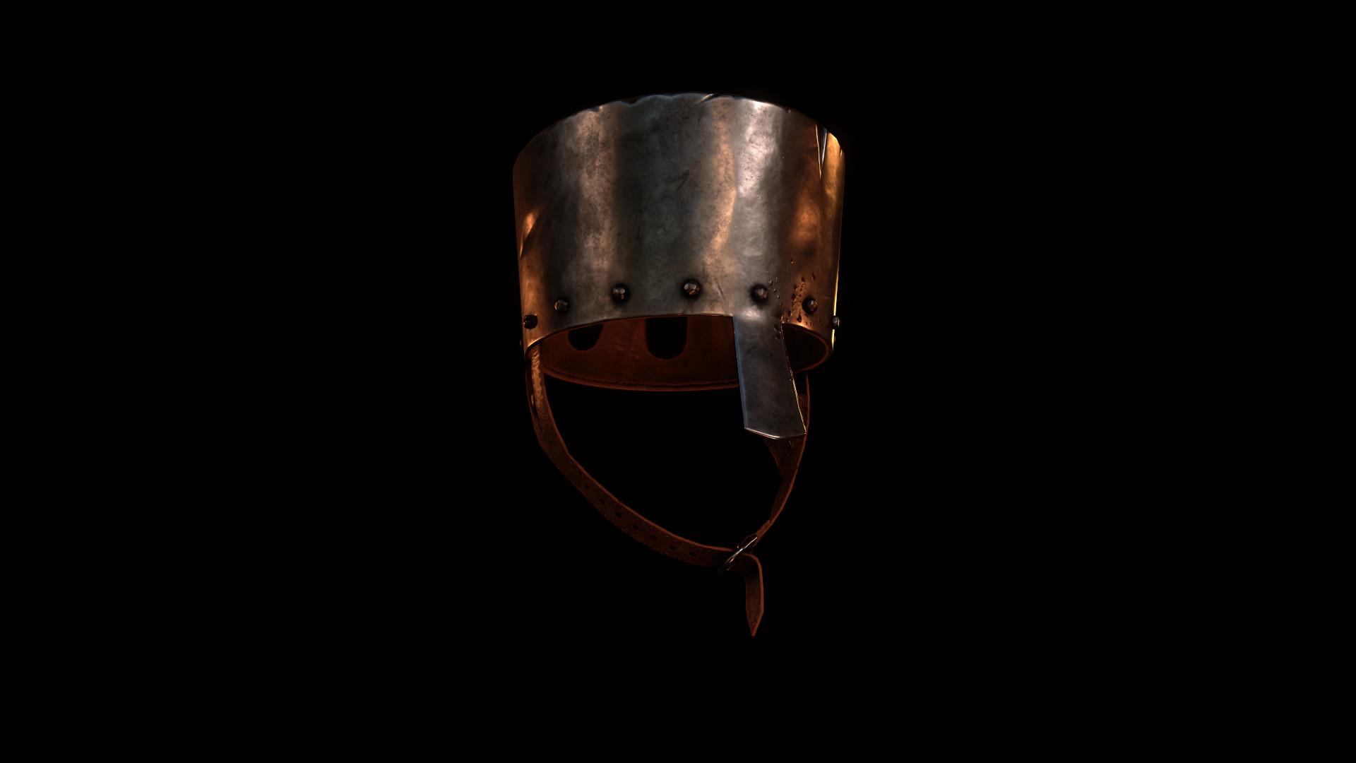 Béla Csampai - Templar Enclosed Helmet