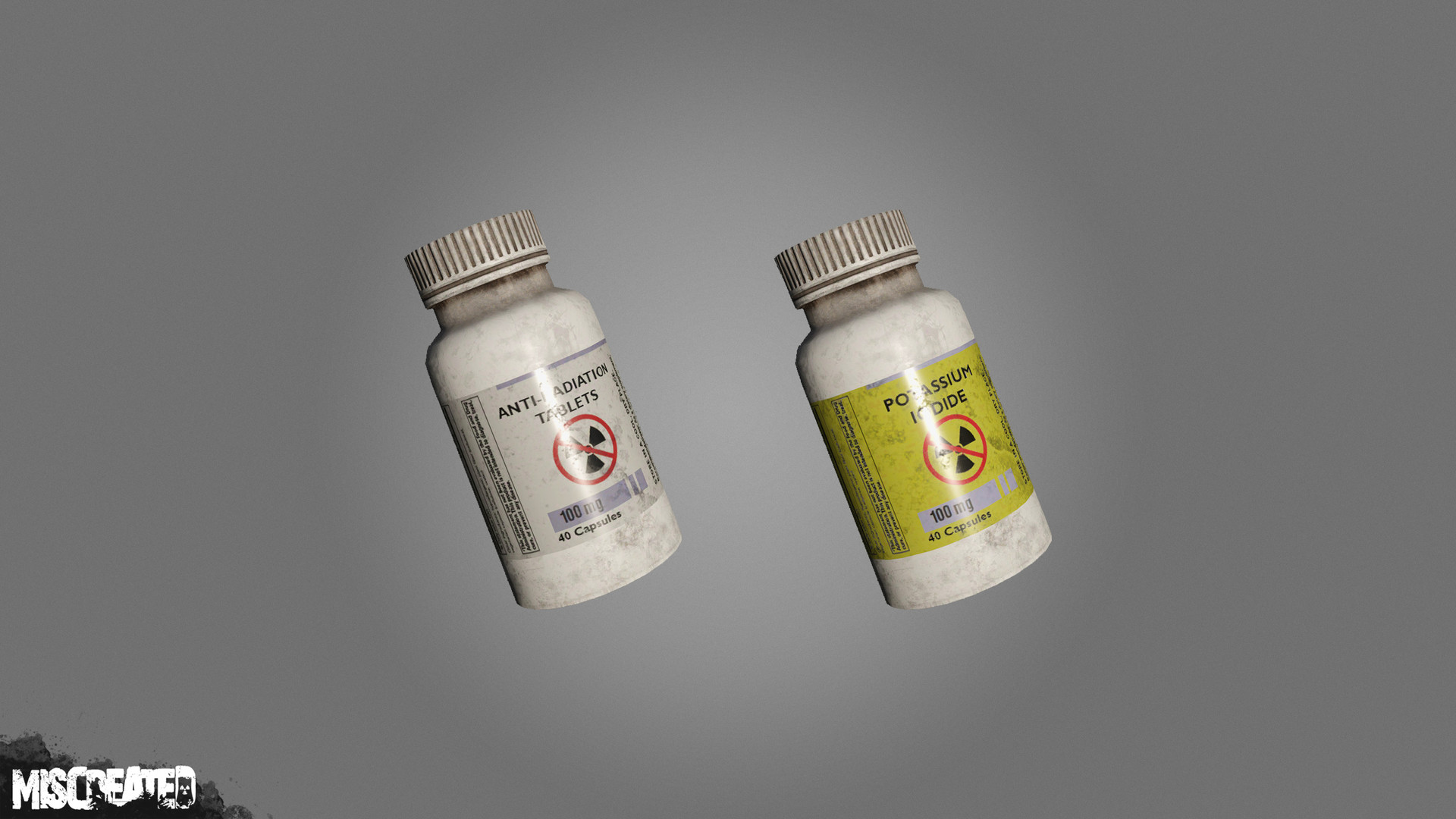Anti-Radiation/ Potassium Iodide Pills to help protect players from irradiated areas