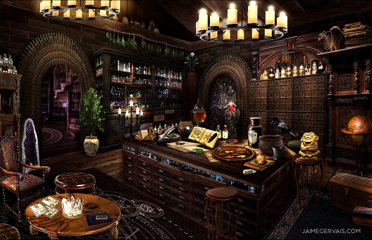 Apothecary - personal work.