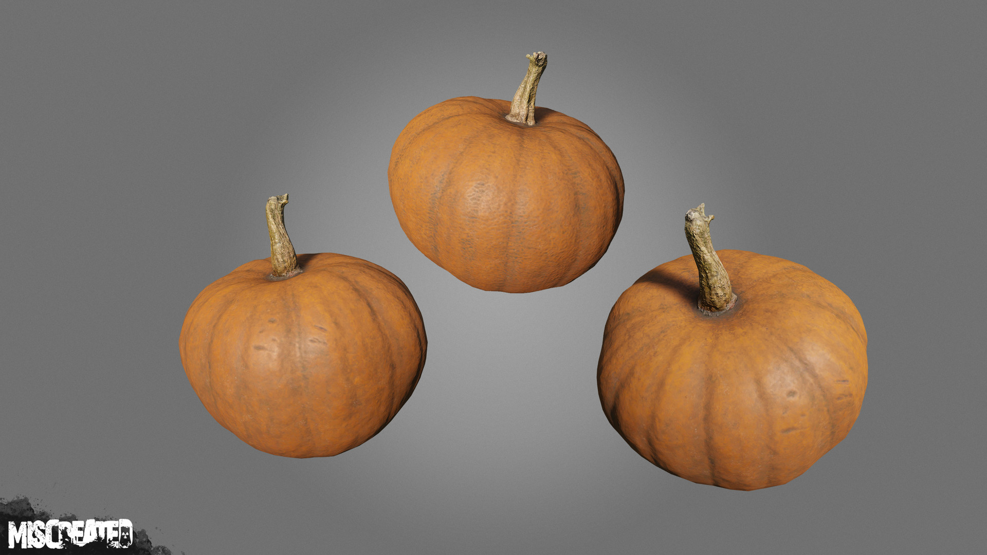 Pumpkin consumable, used as a food item or craftable for clothing or base item