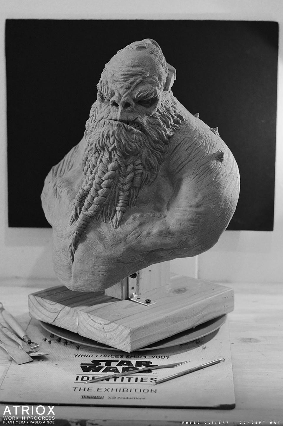 Pablo olivera atriox sculpture plasticera by pablo olivera 02