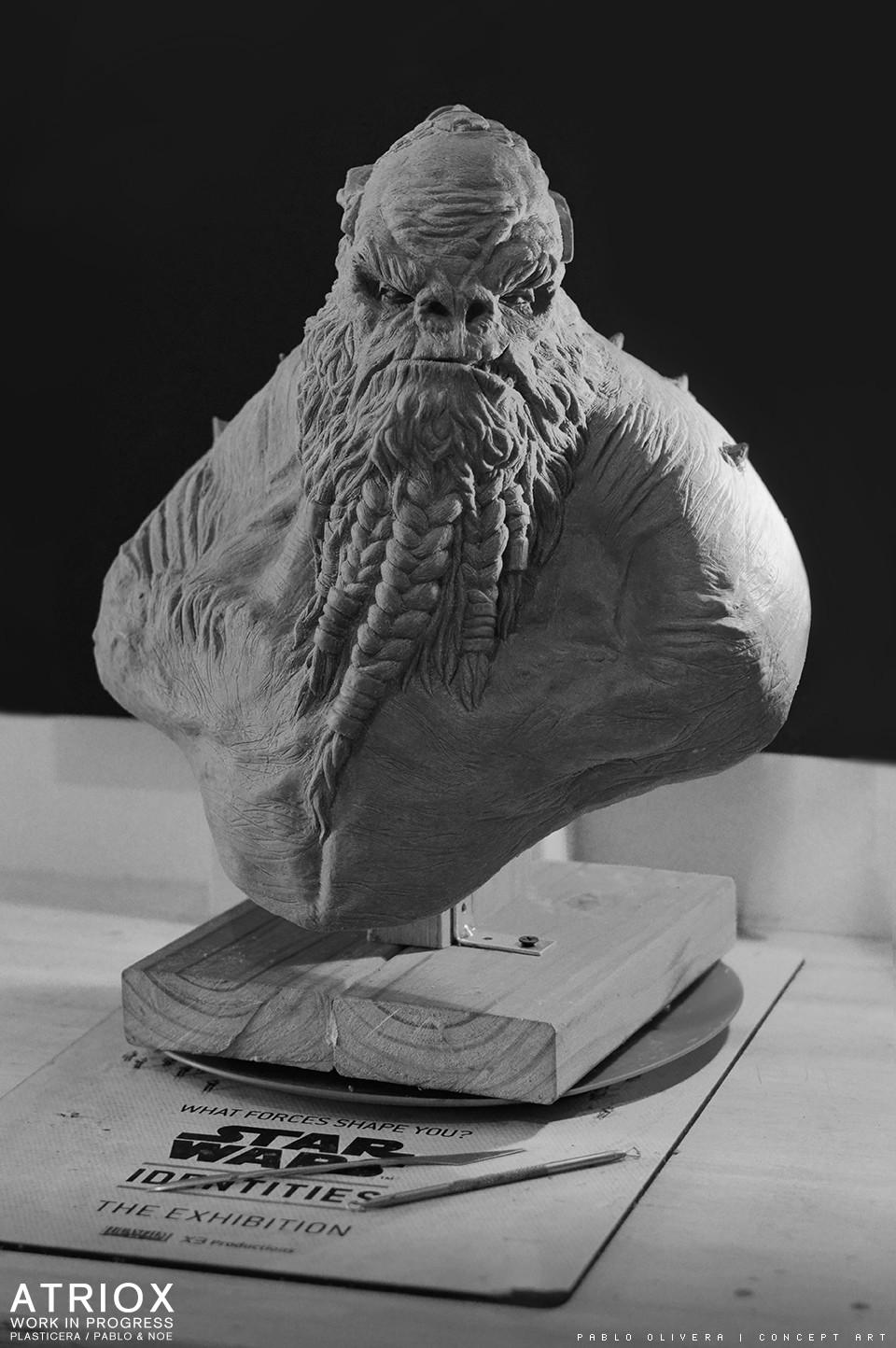 Pablo olivera atriox sculpture plasticera by pablo olivera 03