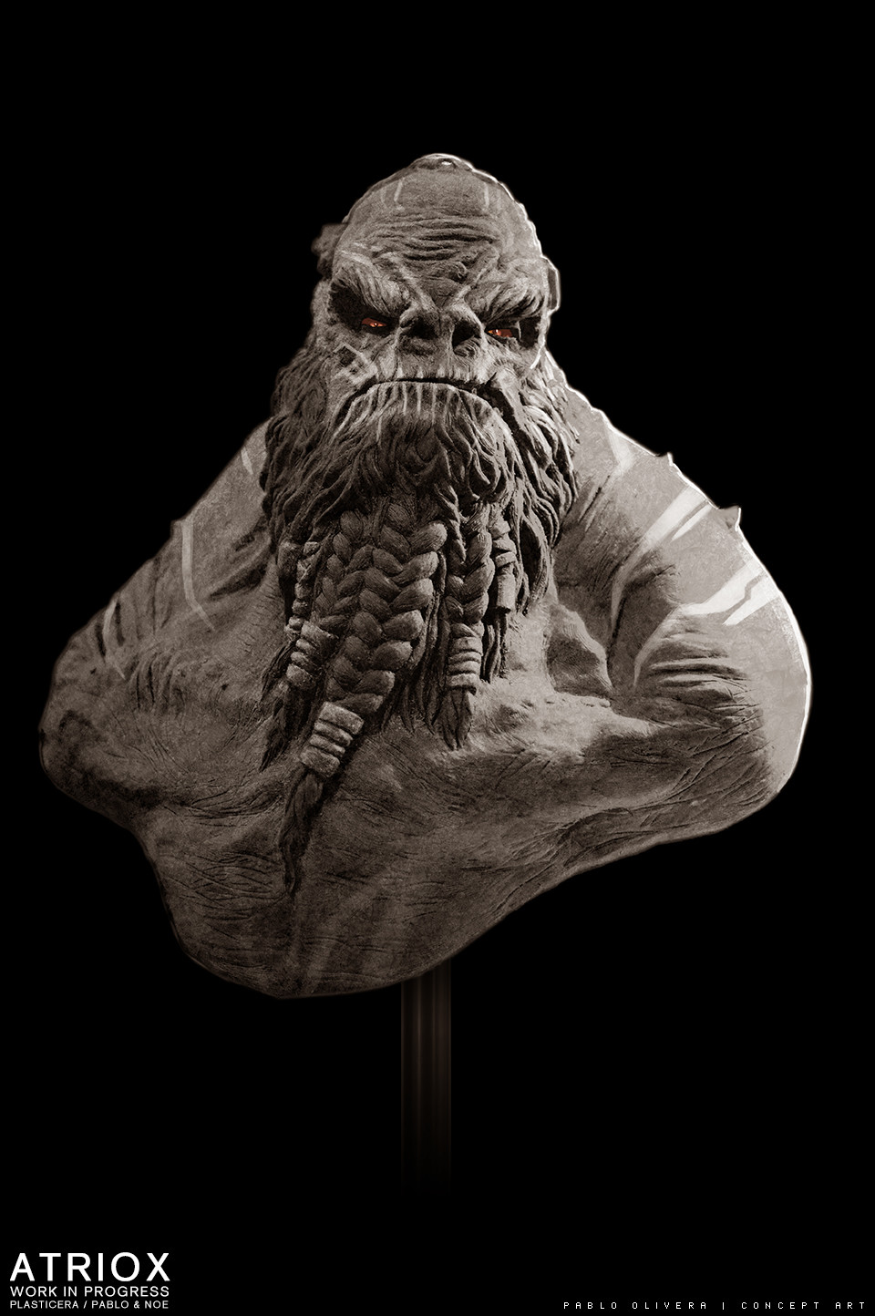 Pablo olivera atriox sculpture plasticera by pablo olivera 06