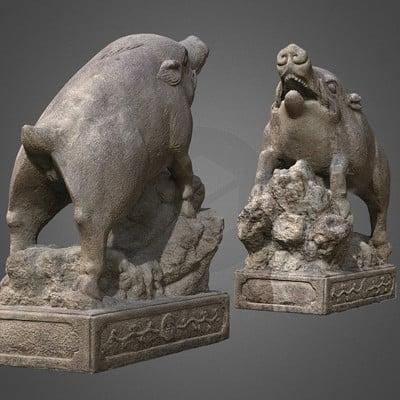 Vlx kuzmin inoshishi guardian boars goo shrine kyoto