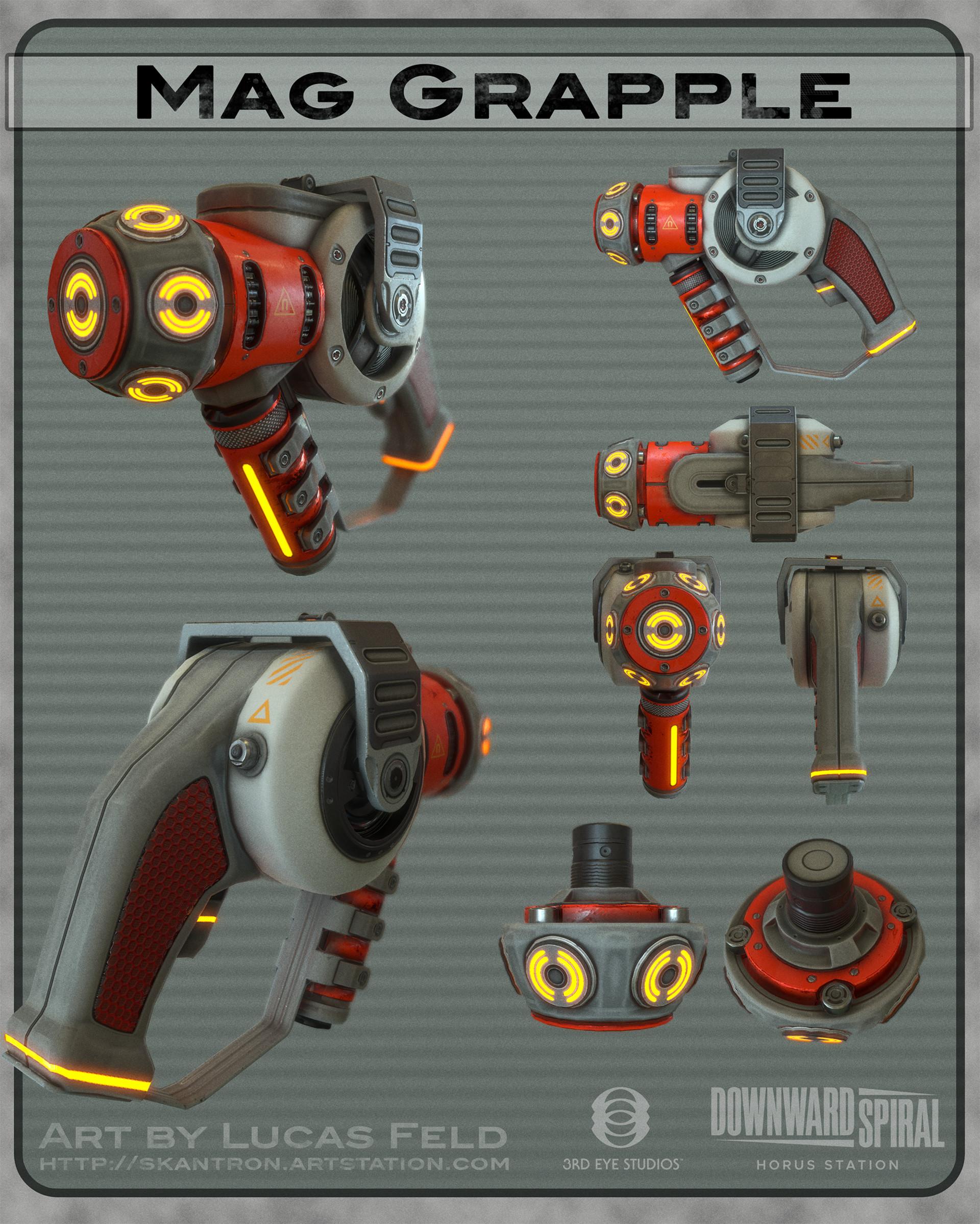 ArtStation - Downward Spiral Weapons, Lucas Feld