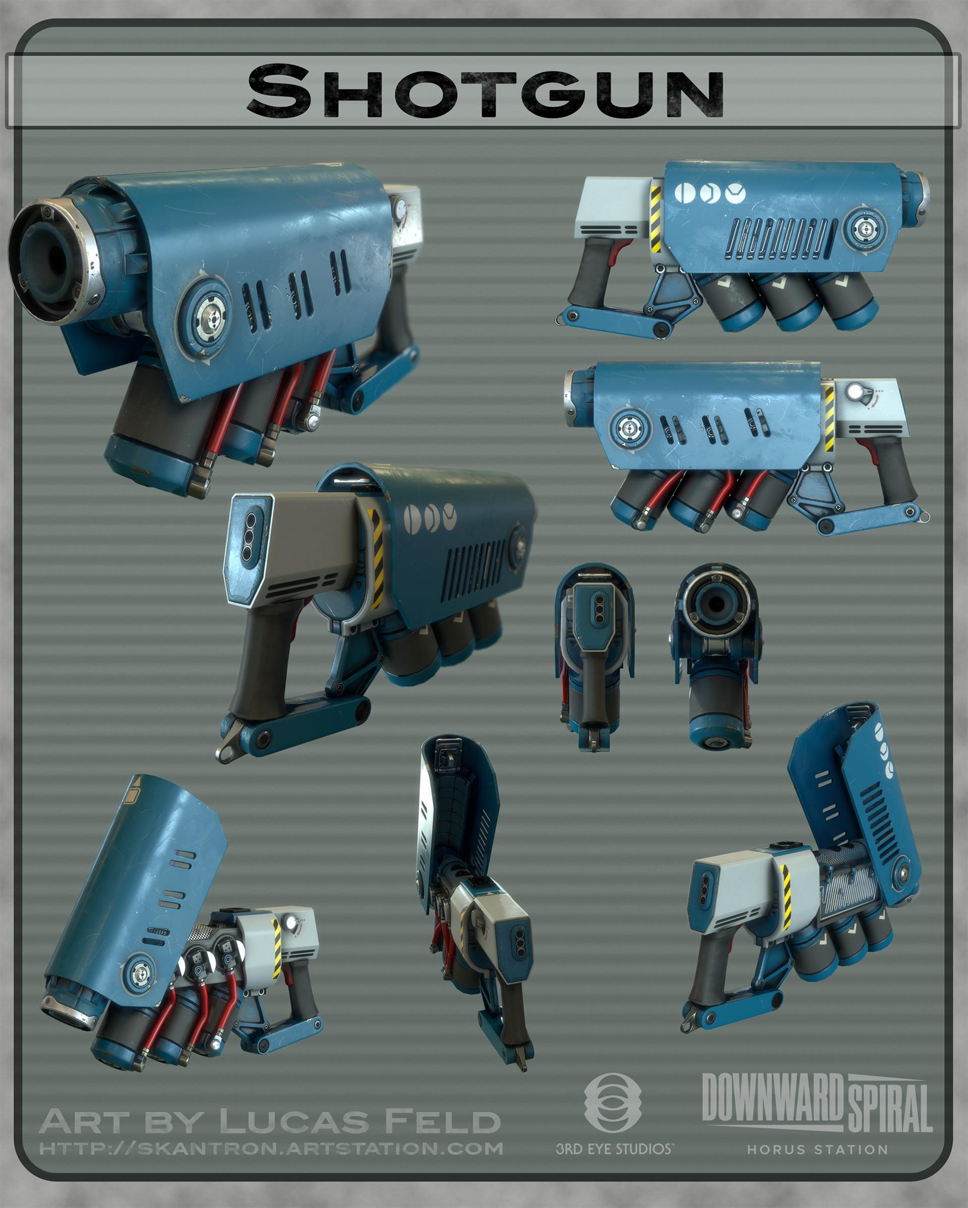 Lucas feld weaponsprex shotgun