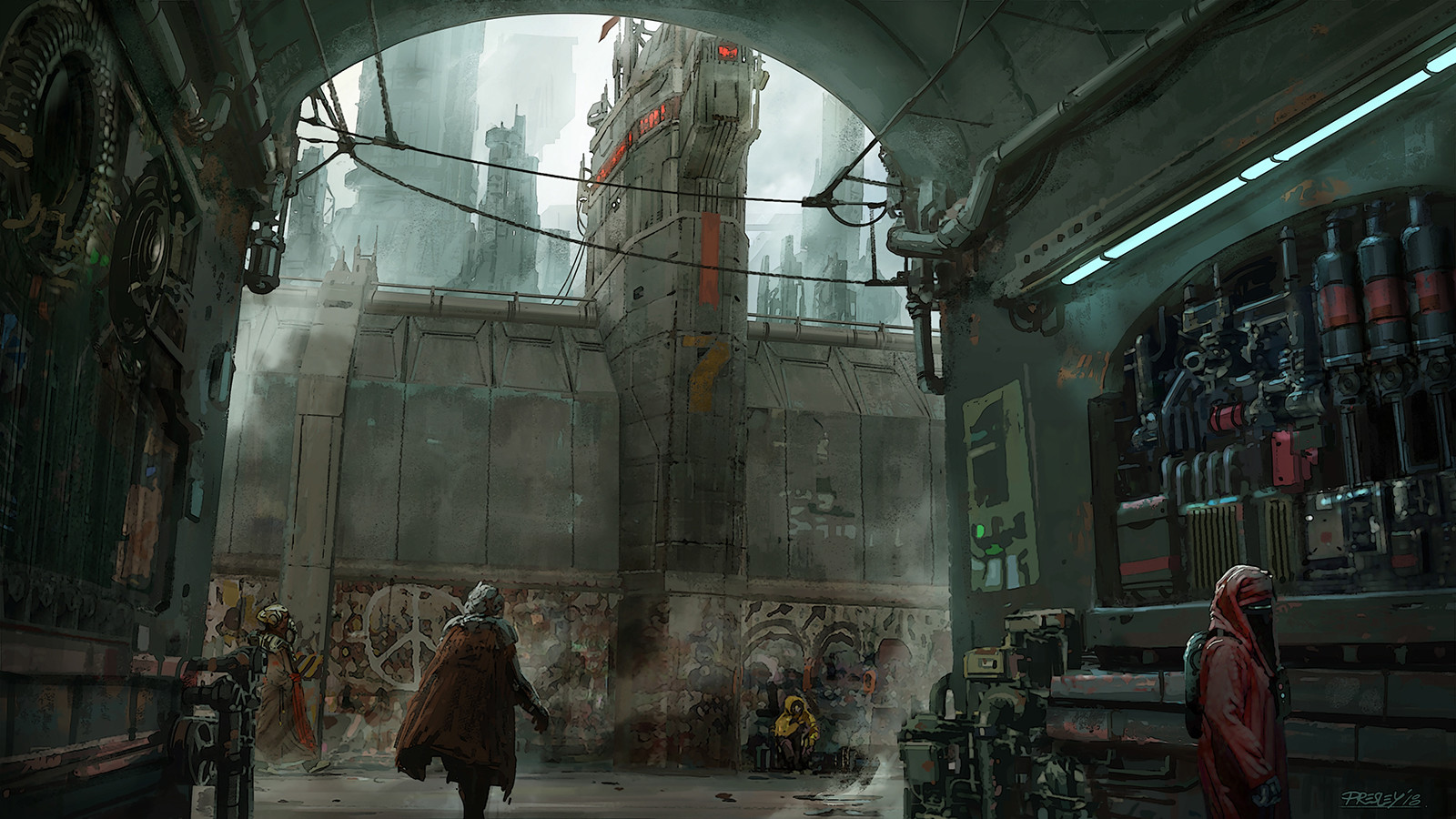 Pat presley berlin sketch repaint v03a thewatchtower