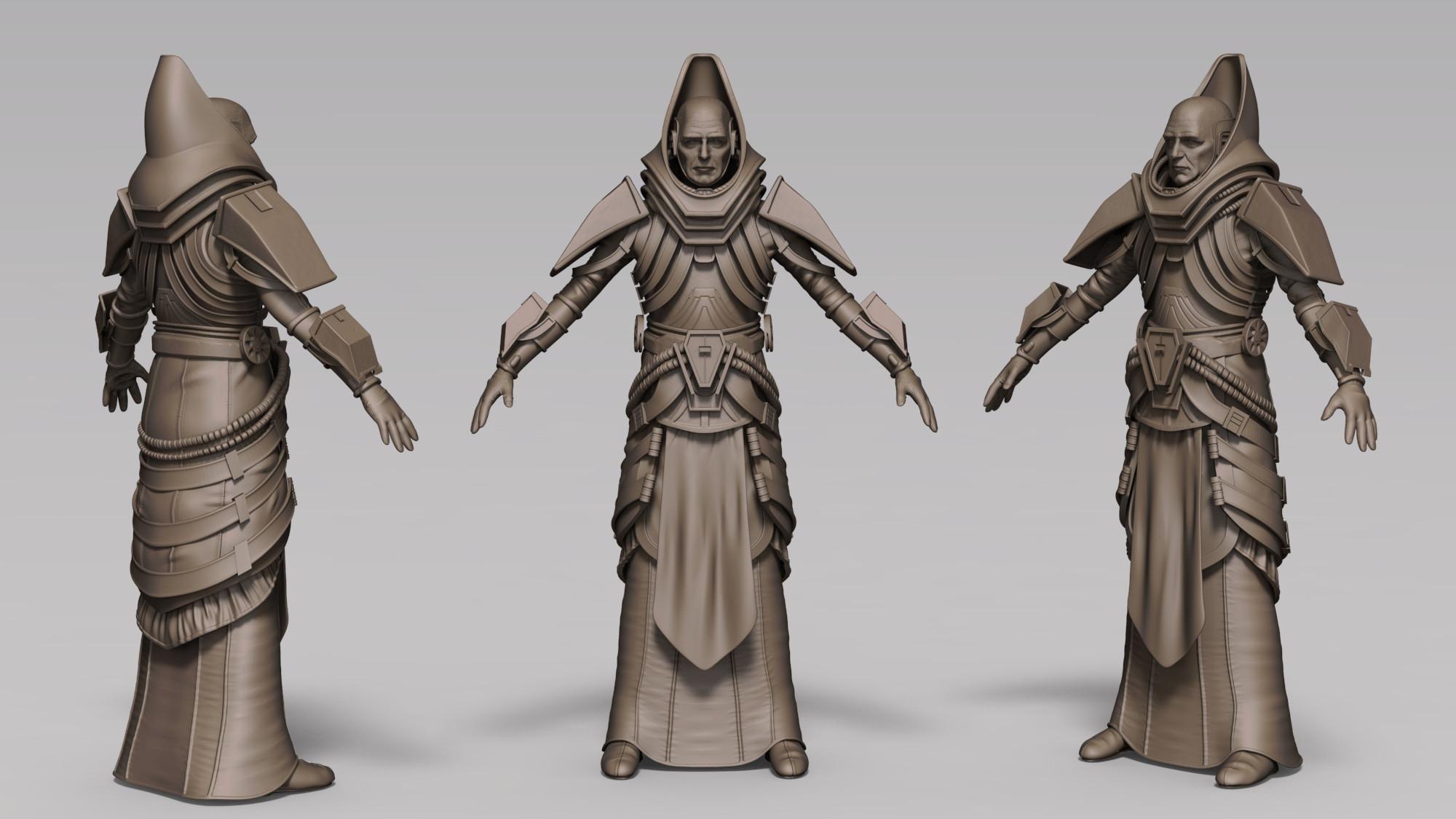Keyshot render - hirez sculpt
