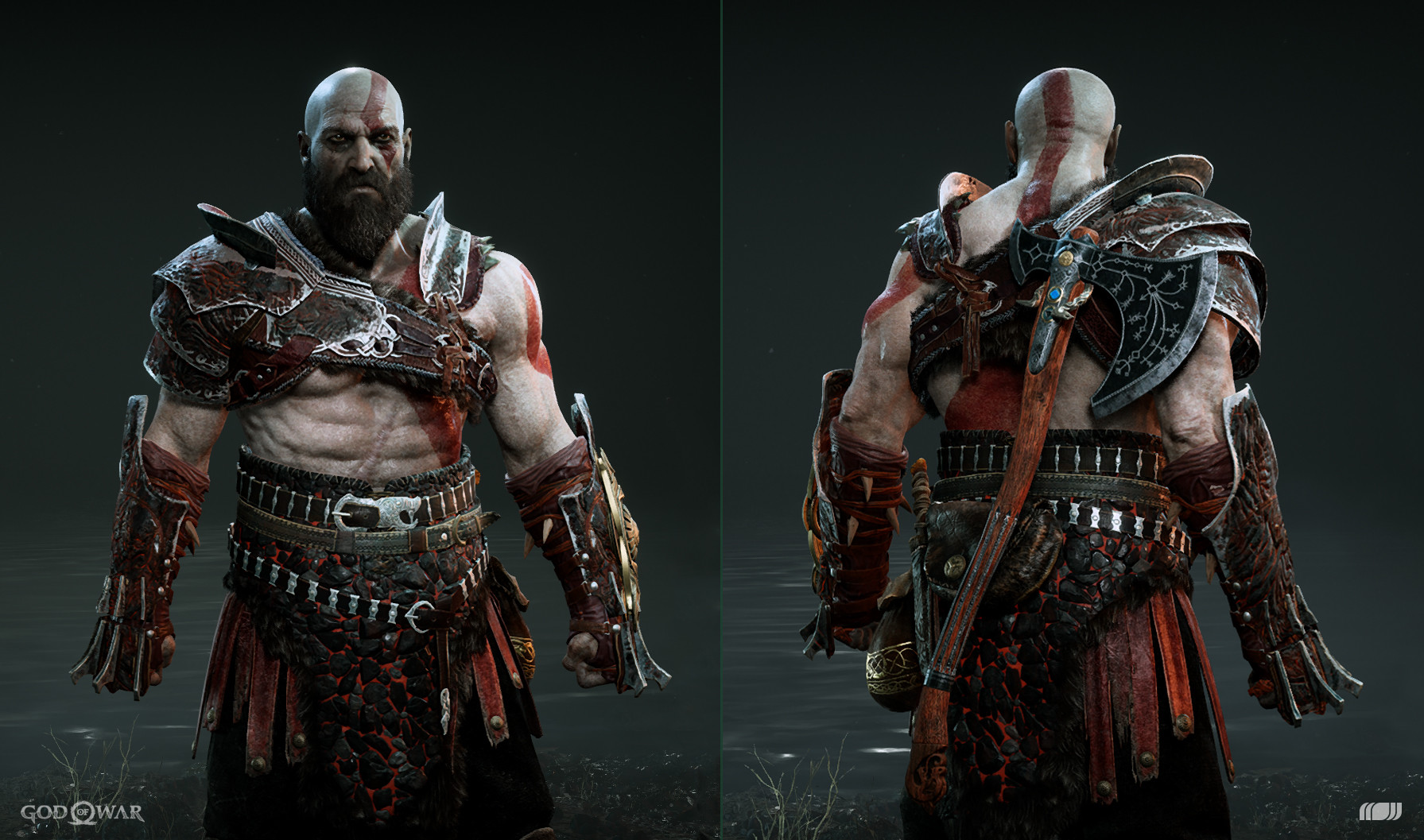 ArtStation - Kratos Armor Sets, Arda Koyuncu
