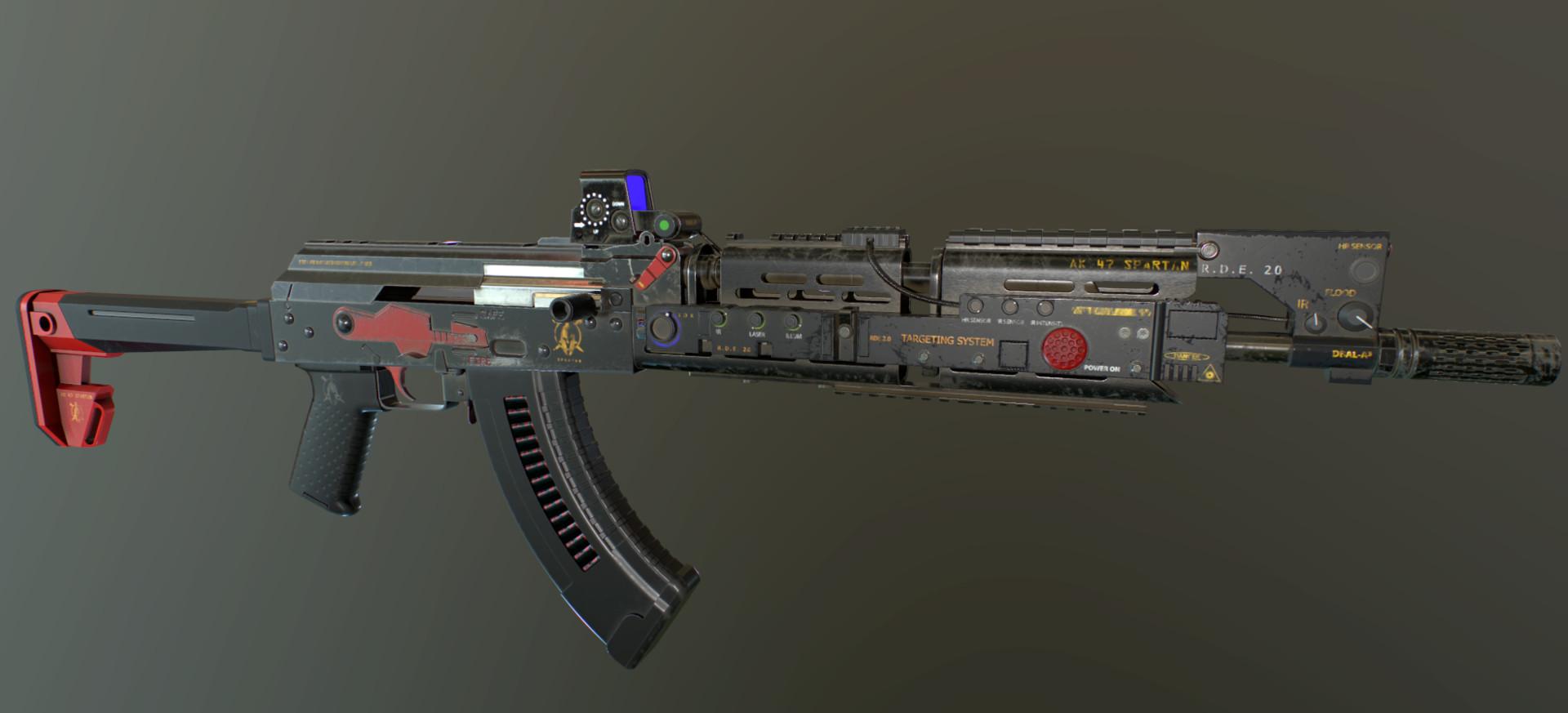 Michael Figueroa - AK 47 Spartan