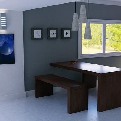George mavroeidis interior table