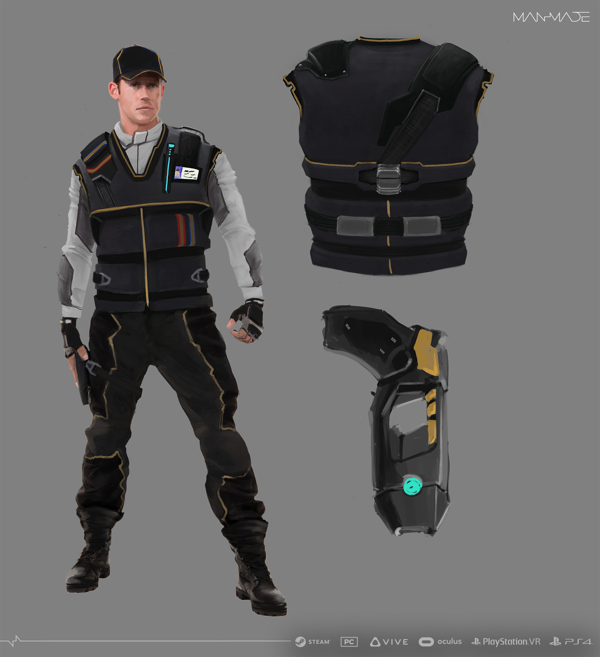 Security Character Design
