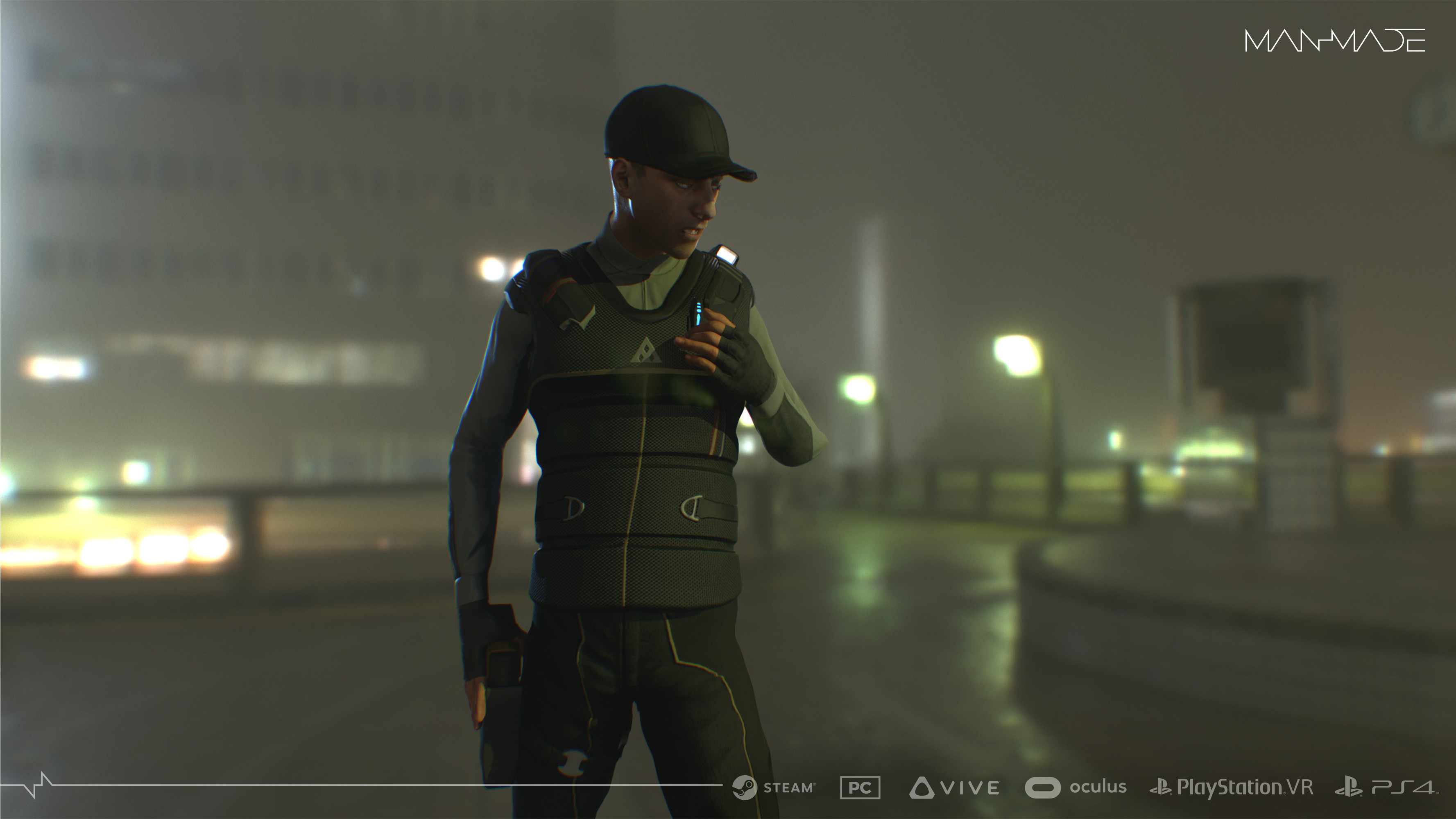 Security Marmoset Render for Materials and Mood
