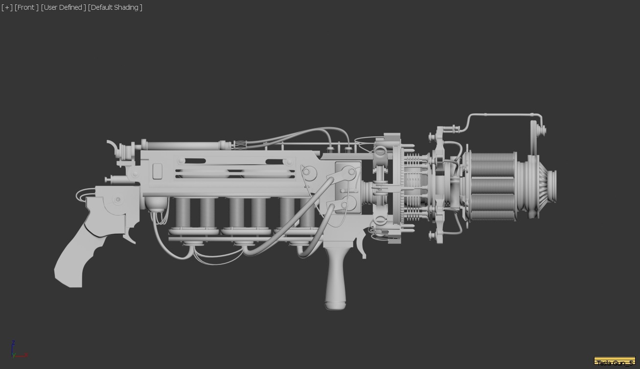 ArtStation - Tesla Gun, Anupama Narayan