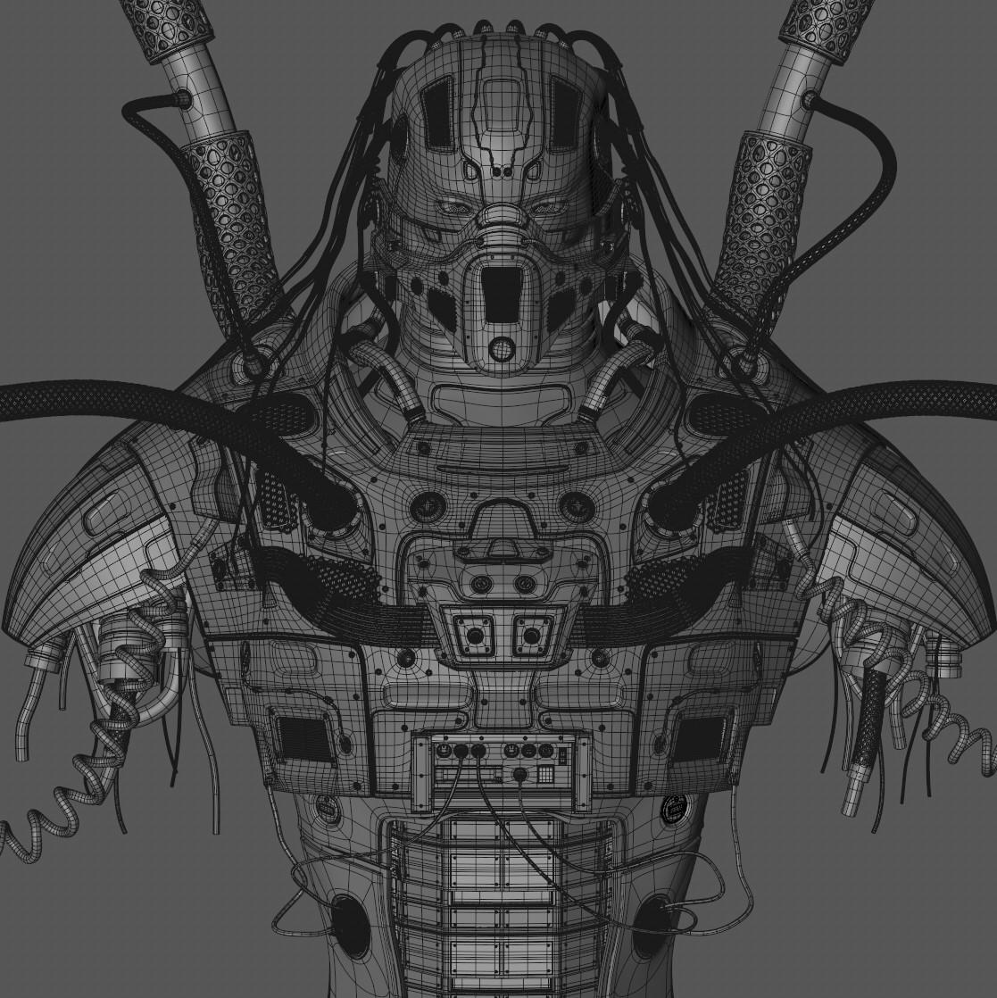 RoboPredatoroCop - Wireframe