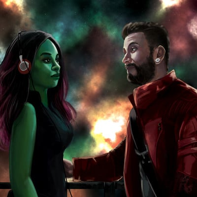 Commission - Guardians of the Galaxy