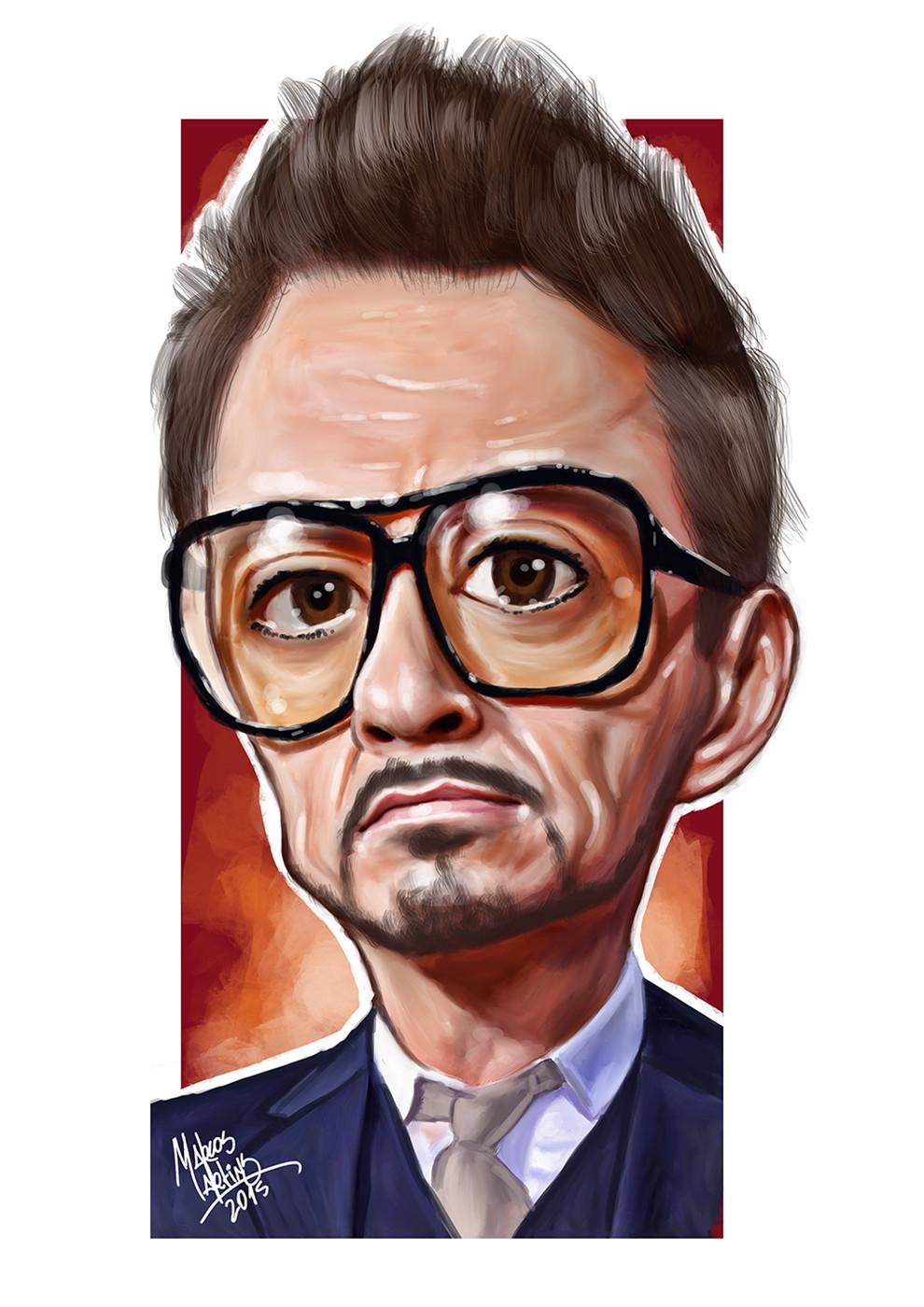 """Robert, the """"Iron Man"""""""