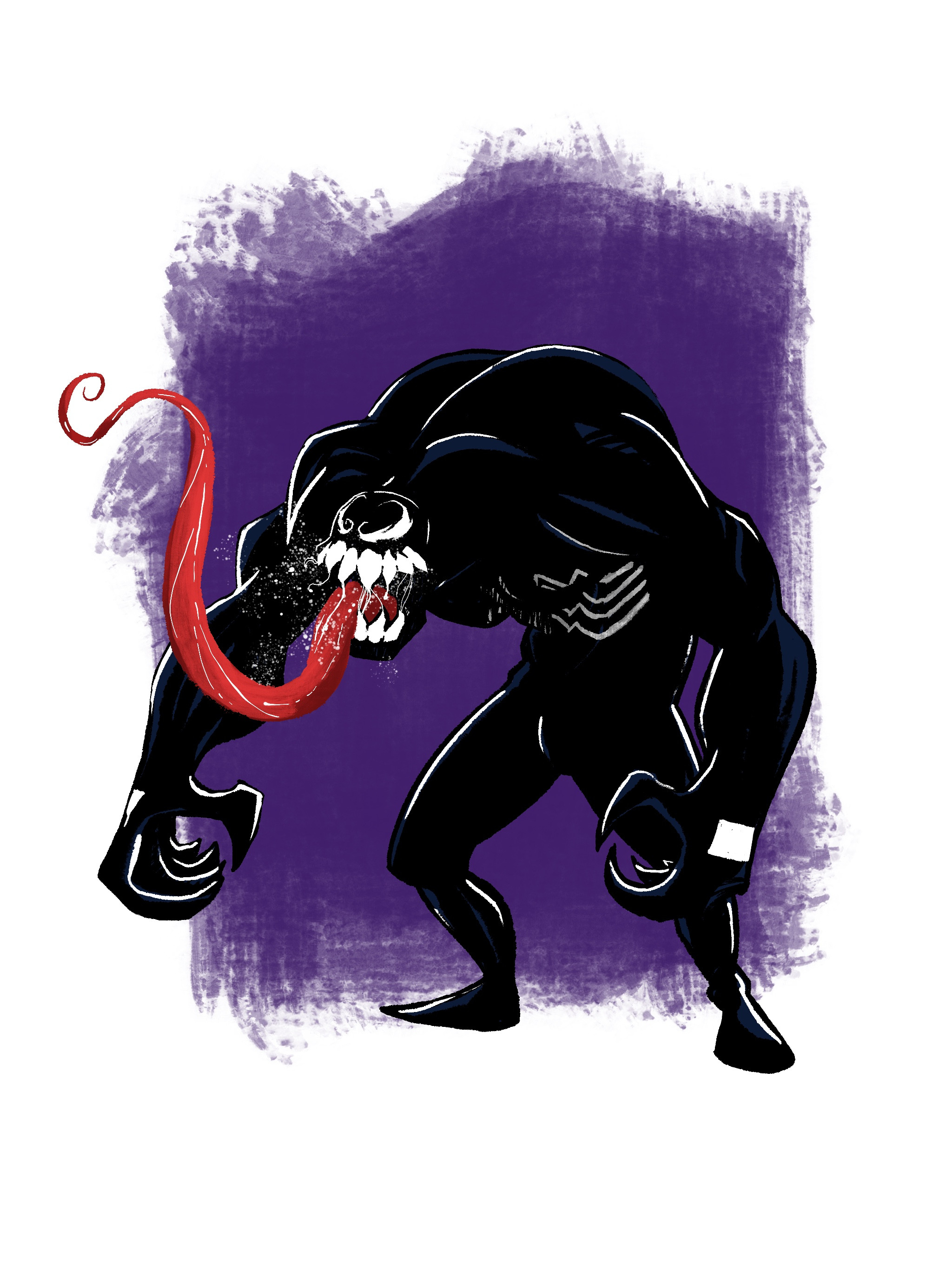 Venom - Digital in Procreate