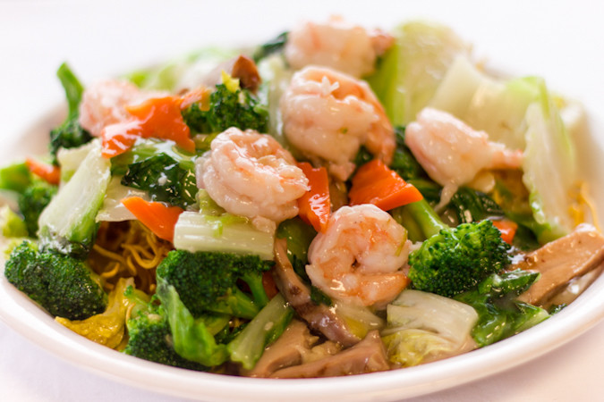 Priscilla firstenberg yangsnoodle hong kong style crispy noodle