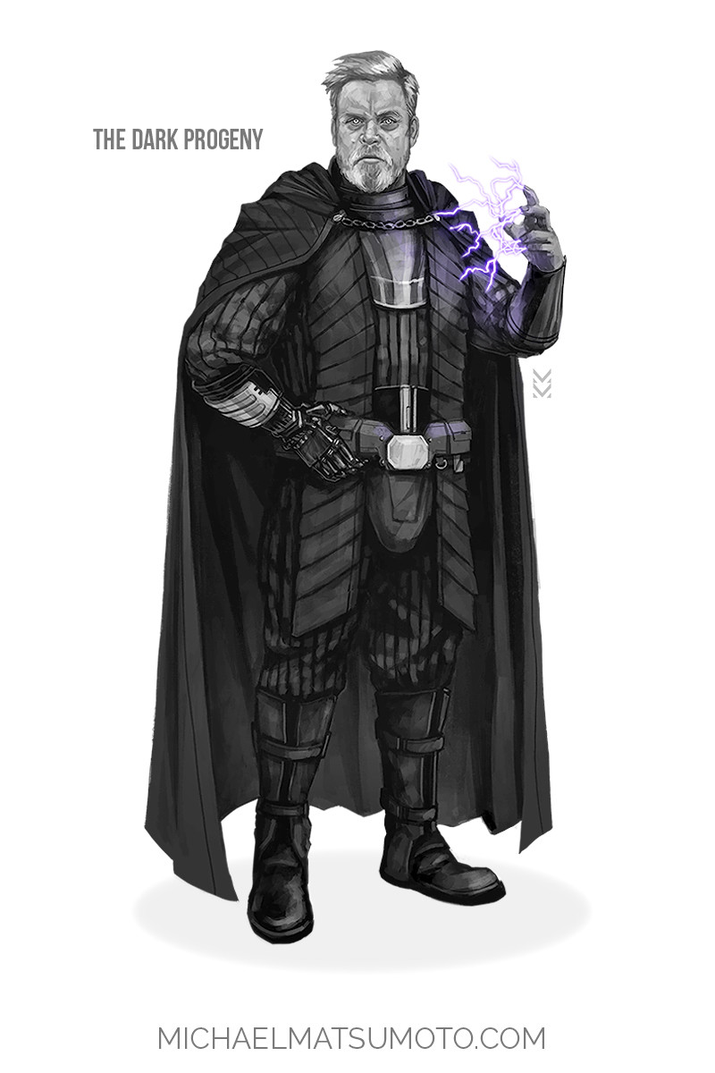 Michael matsumoto the dark progeny