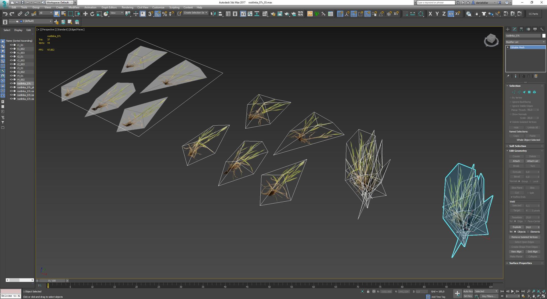 max model grass