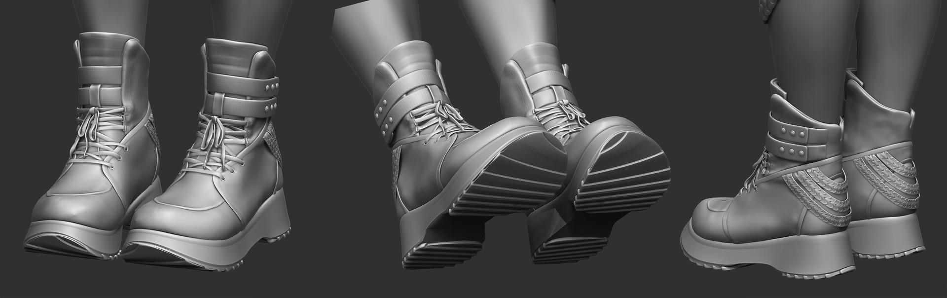 Ada ferran render shoes