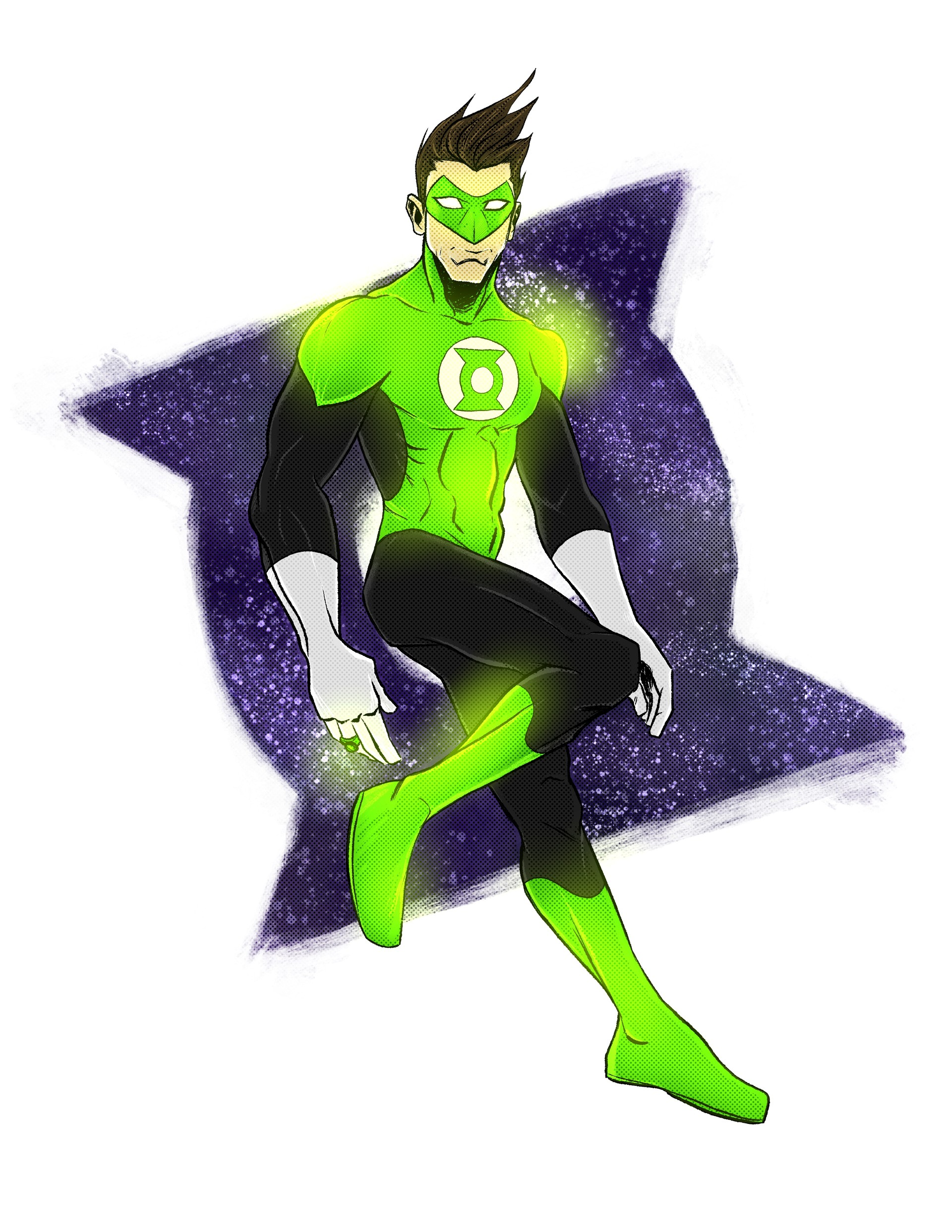 Randy haldeman green lantern final