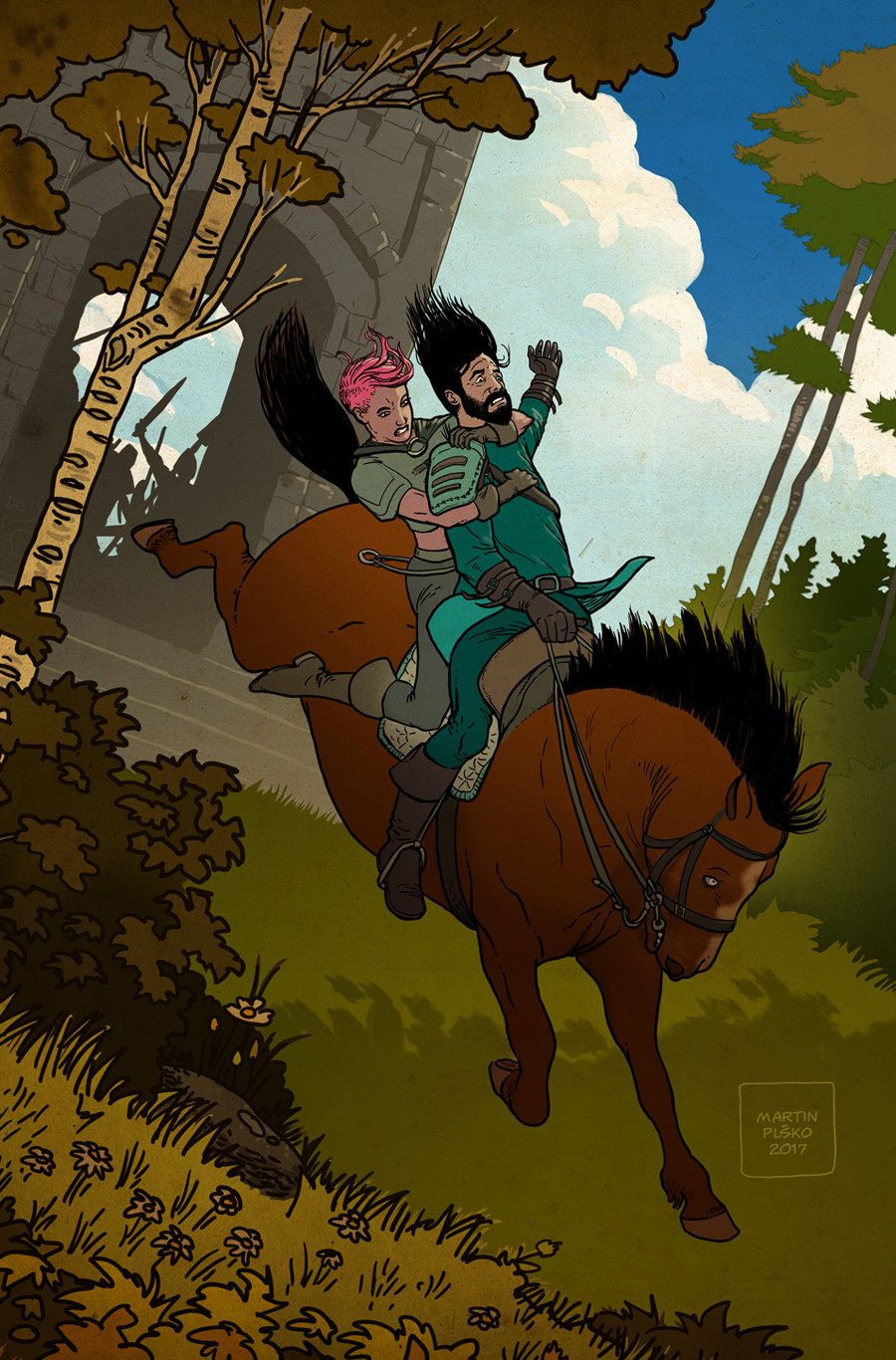 My pin-up for Ruin of Thieves: A Brigands story.