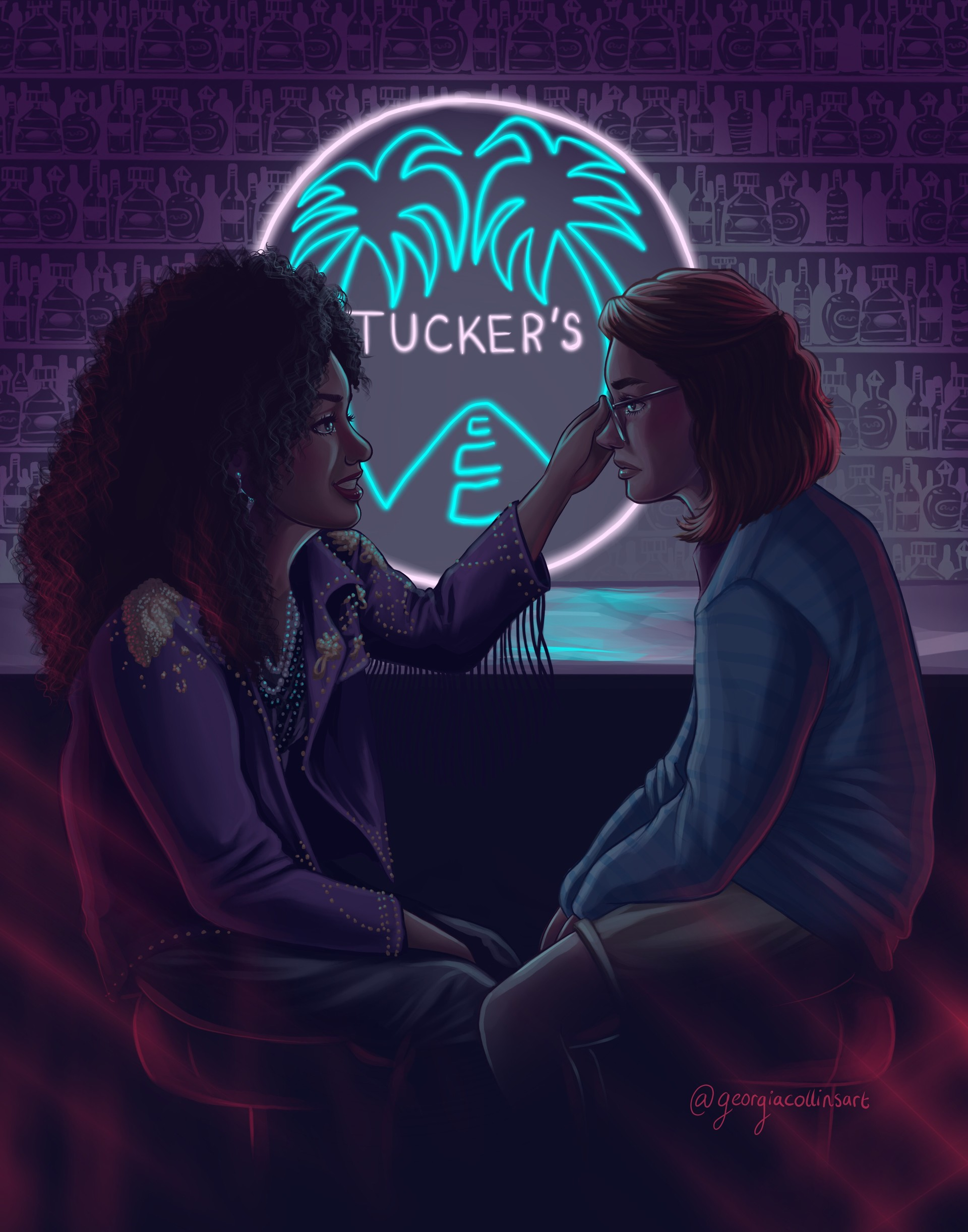 Artstation San Junipero Georgia Collins
