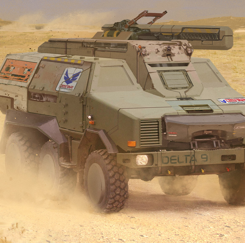Delta 9 - Rapid Response All Terrain Offensive Vehicle