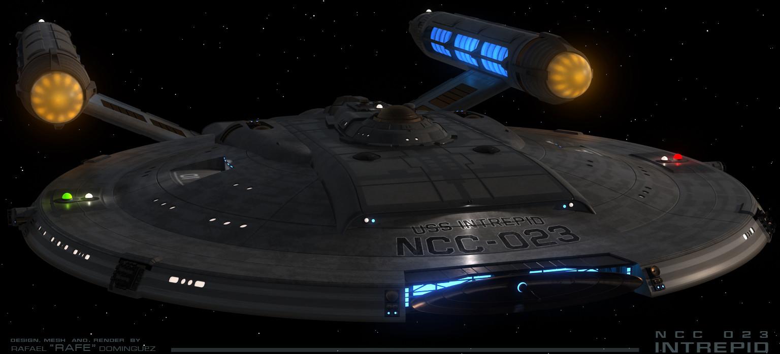NX Star Trek design - NCC production starship  by RAFE
