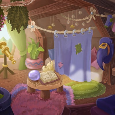 Olga andreeva lecture10 fantasy indoors