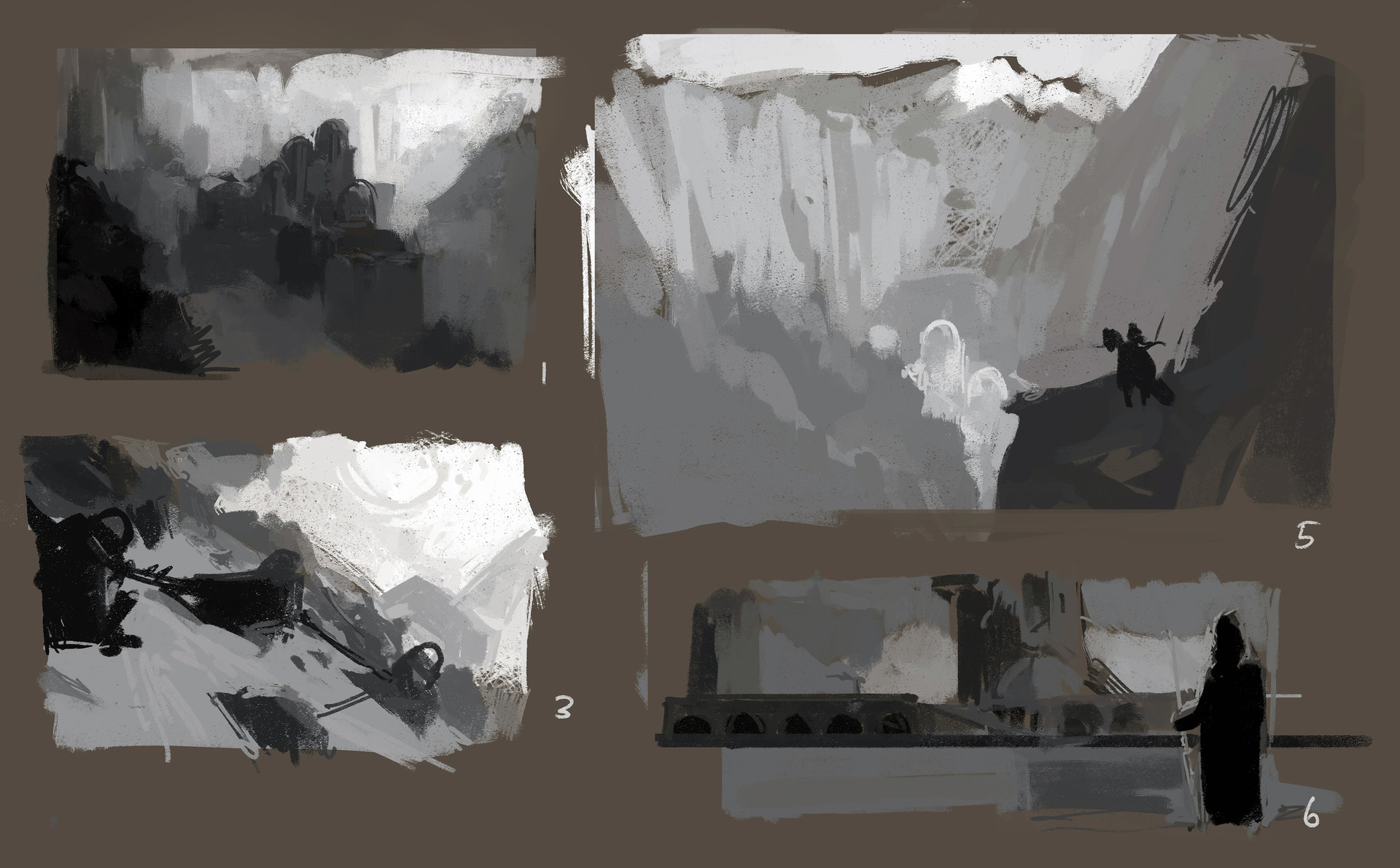Sergey musin environment sketches