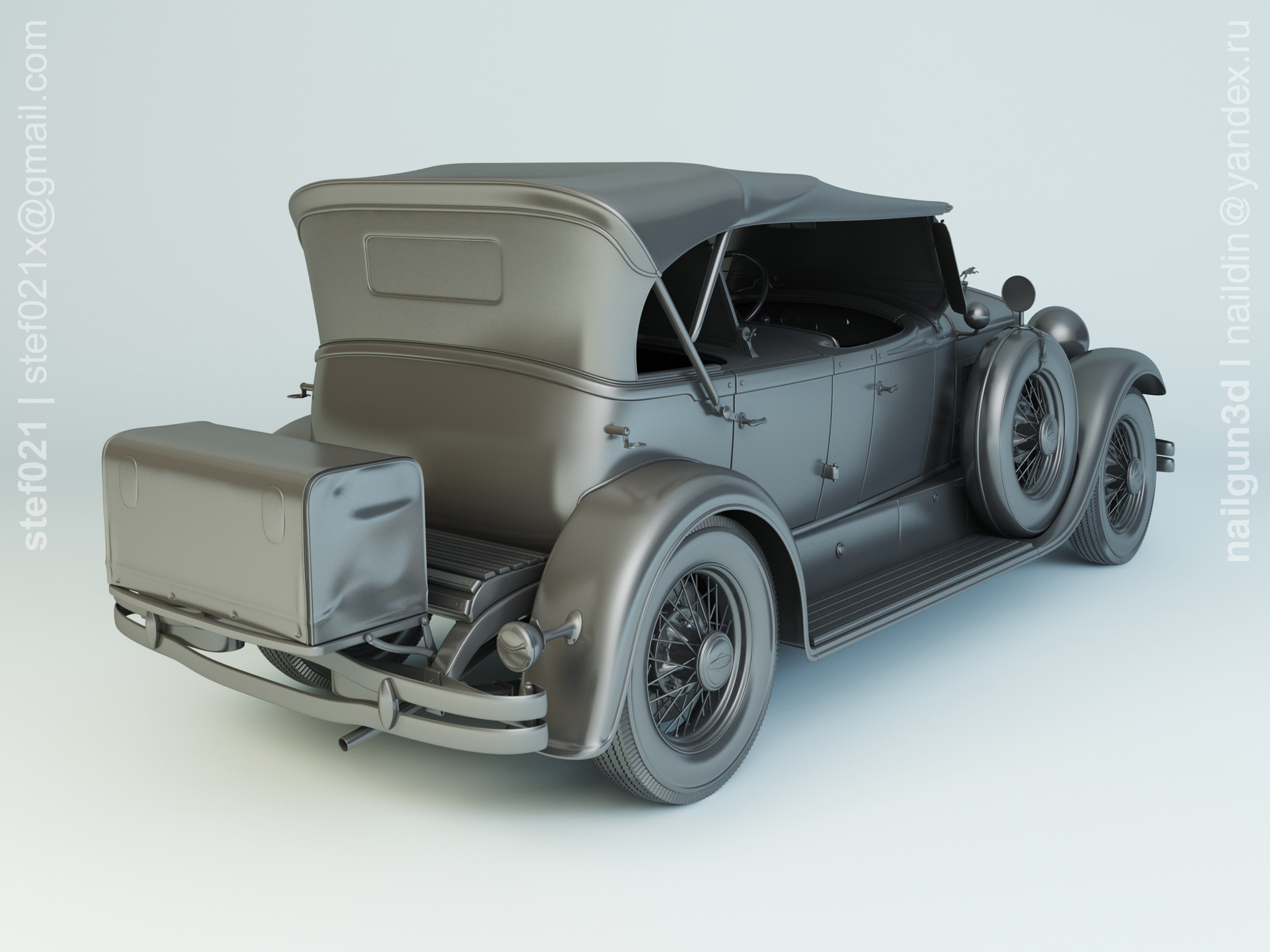 Nail khusnutdinov a0012 000 lincoln molel l 1930 modelling 1