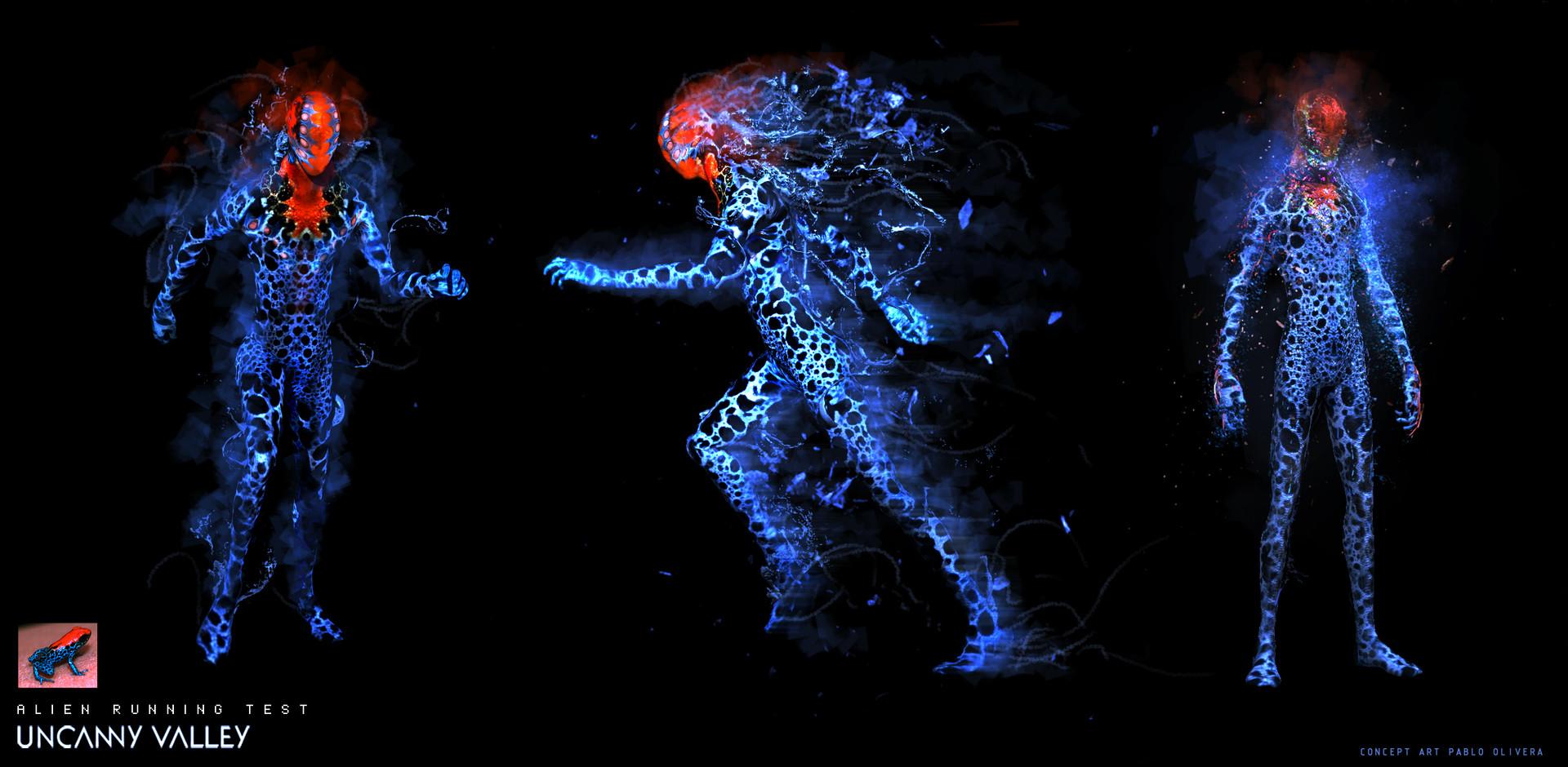 Pablo olivera alien runing