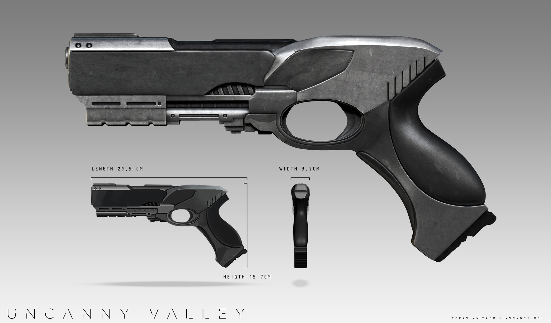Pablo olivera uncanny valley weapons todas 01