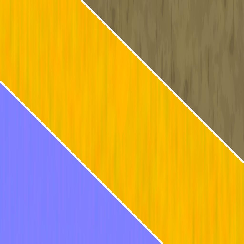 Stylized Wood - Main Texture Set Breakdown Size: 1024x1024