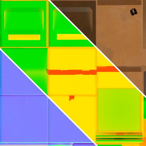 Box - Main Texture Set Breakdown Size: 512x512