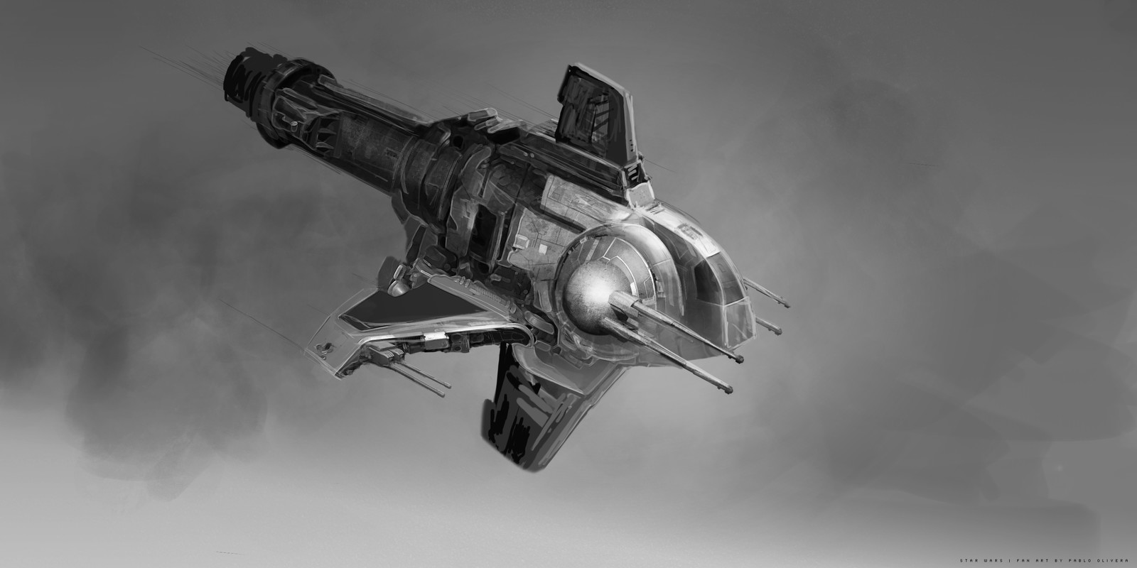 Star Wars Challenge Vehicle Sketches