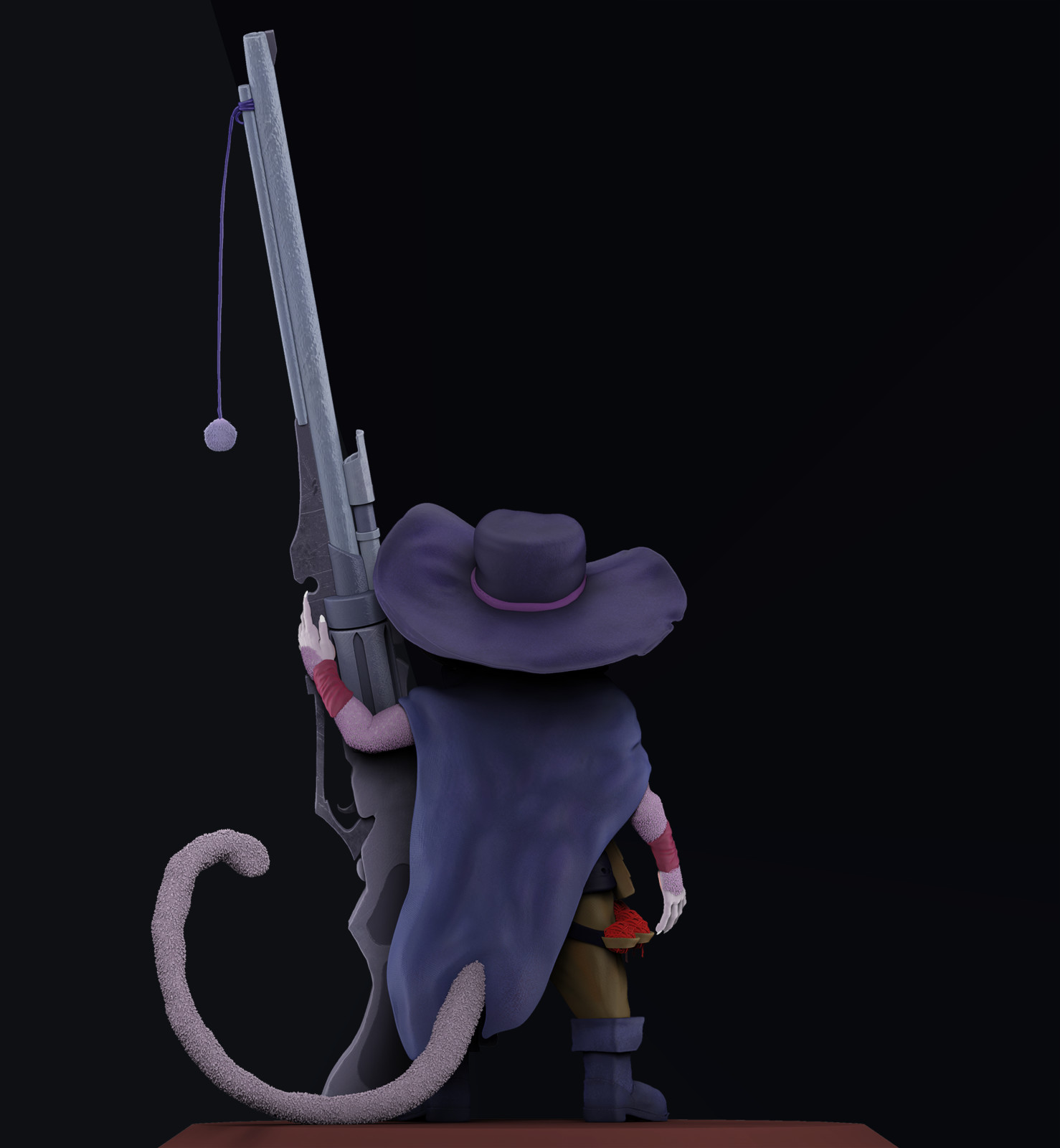 Cat Sniper - Back