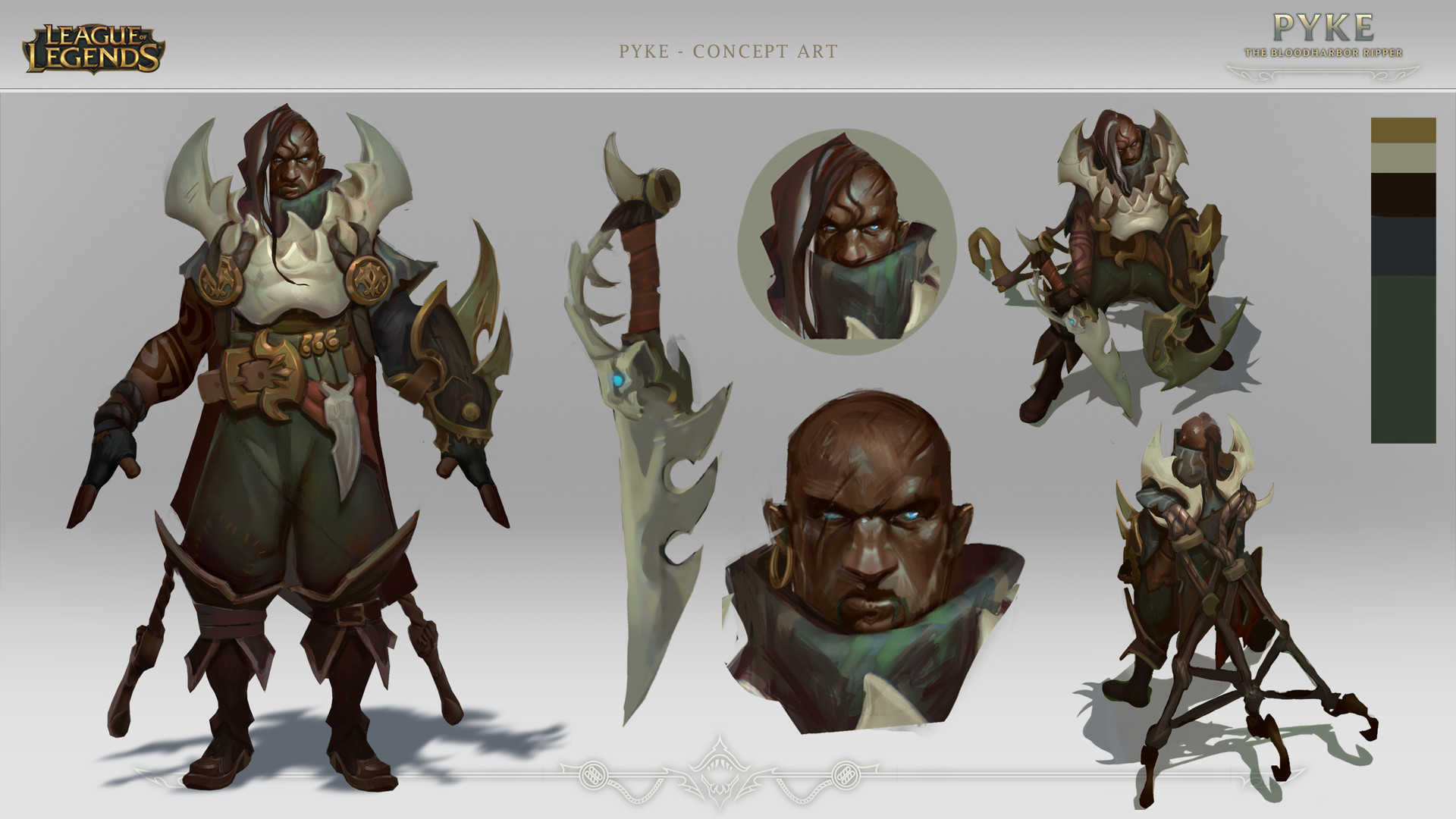 Pyke exploration  design