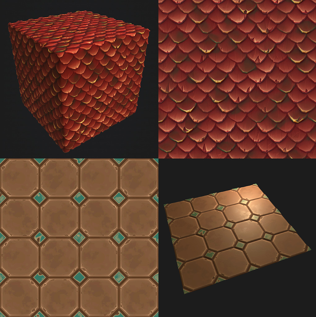 Stylized Substance Textures