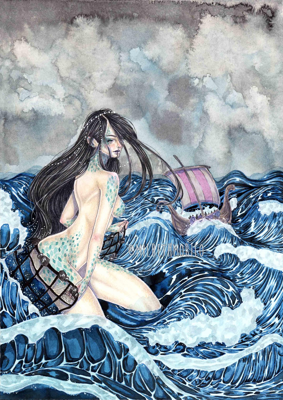 Goddess of the sea porn