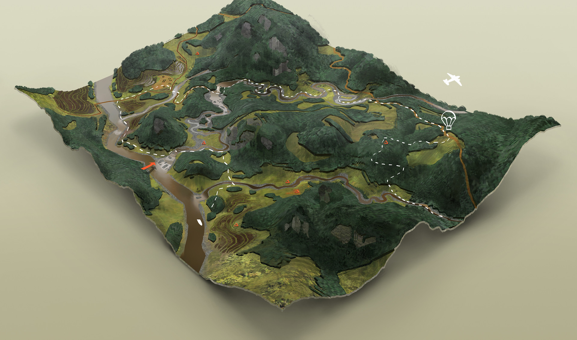 Filip storch hills map overview