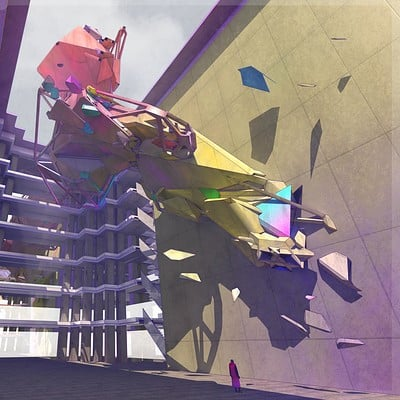 Sean hargreaves abstract courtyard final rend 1flat