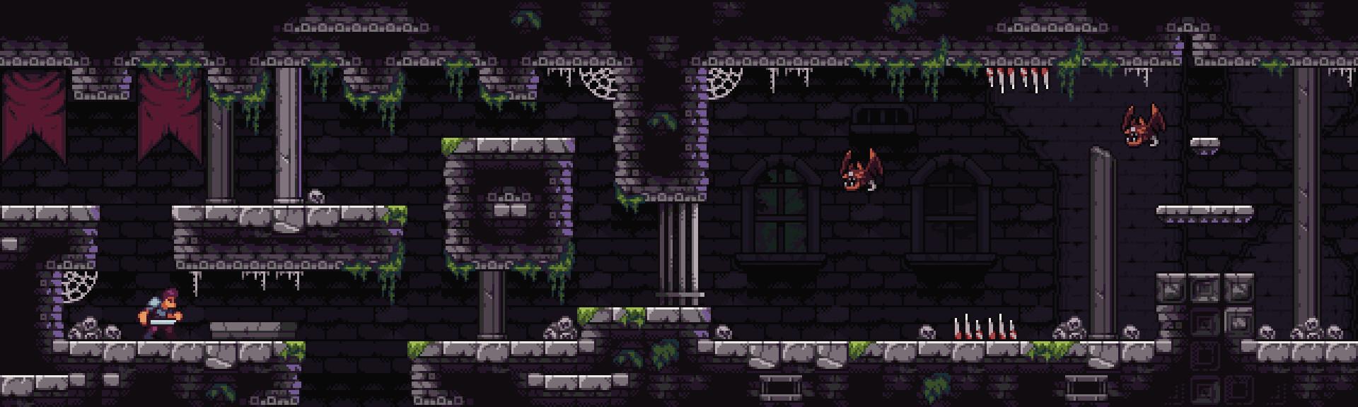 ArtStation - Castle Dungeon - Pixel Art asset pack, Nauris Amatnieks