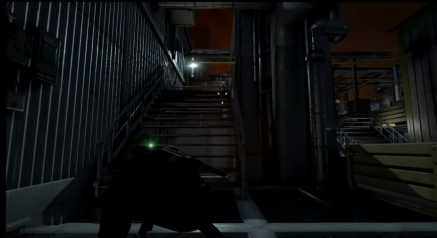 This was a shot from Splinter Cell Blacklist as it appeared in game
