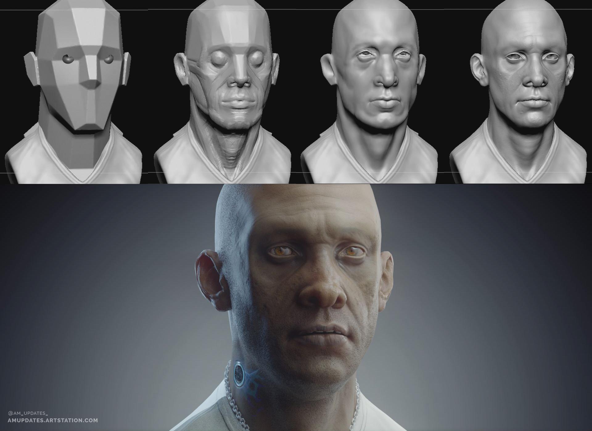 Sculpting progression